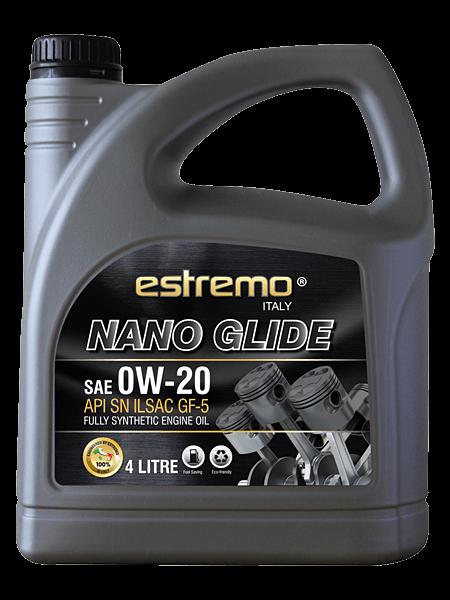 estremo-lubricant-fully_synthetic-nano-glide-0w20-4-litre